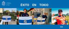 Llena de luz nos guía: estandarte UC acompañará a deportistas en la travesía Tokio