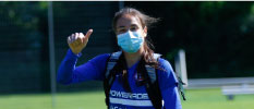 Antonia Canales se sube al avión  Tokio
