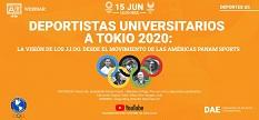 Webinar Deportistas Universitarios a Tokio 2020