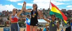 Ignacia Montt se luce en Bolivia y vuelve con tres medallas desde la altura
