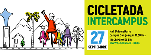 CICLETADA INTERCAMPUS UC 2019