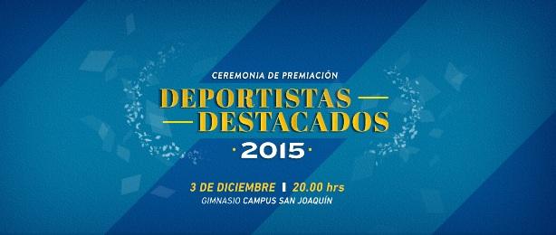 CEREMONIA DEPORTISTAS DESTACADOS 2015