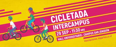 CICLETADA INTERCAMPUS