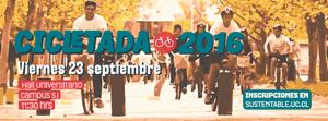 CICLETADA INTERCAMPUS 2016